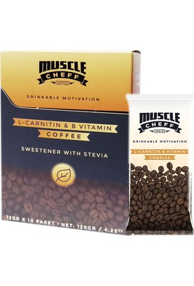 Musclecheff Coffee Motivasyon Kahvesi 10 X 12 Gr