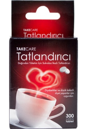 Takecare Tatlandirici 300 Tablet