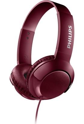 Philips BASS+ SHL3070RD/00 Kulaküstü Kırmızı Kulaklık