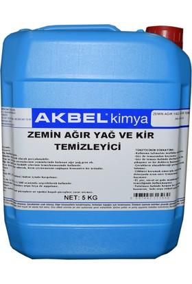 Akbel Zemin Ağır Yağ ve Kir Temizleyici 5 kg