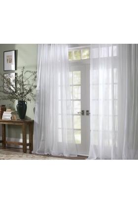 Aisha Home Beyaz Tül Perde 300 x 260