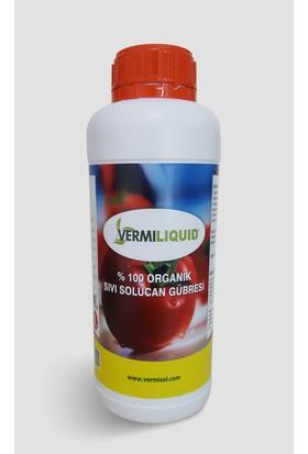 Vermisol VL10 % 100Organik Sıvı Konsantre Solucan Gübresi 1 lt