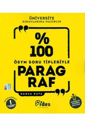 Fides Yayınları YKS %100 ÖSYM Soru Tipleriyle Paragraf - Hamza Kaya