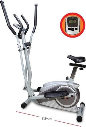 Voit D40 Silver Coll Eliptik Kondisyon Bisikleti