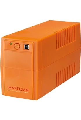 Makelsan Lion+ 850 VA USB (1x 9AH) 5-10dk UPS MU00850L11PL005