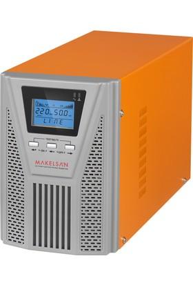 Makelsan P.Pack SE 1 KVA (2x 9AH) 5-10dk Online UPS MU01000N11EAV06