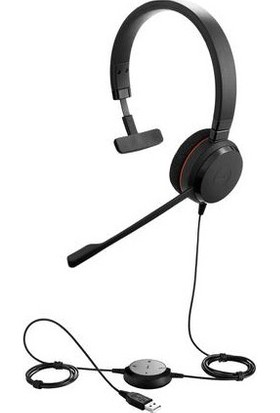 Jabra Evolve 20 Mono Usb Nc Ms