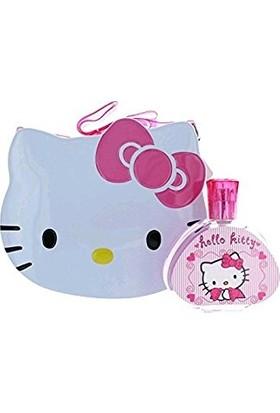 Hello Kitty Women EDT 100ml & Metal Lunch Box
