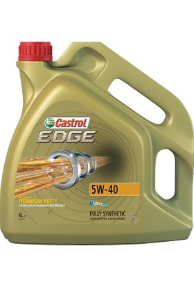 Castrol Edge 5w40 Benzinli - Dizel Motor Yağı 4 lt (Üretim Y