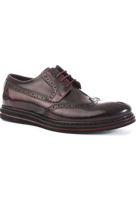 Xint Parlak Bordo Ayakkabı