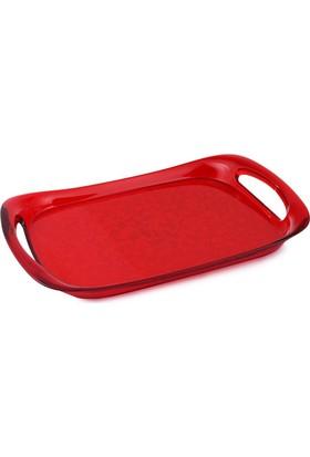 EW's Kitchenware Kitchenware Akrilik Tepsi Kırmızı