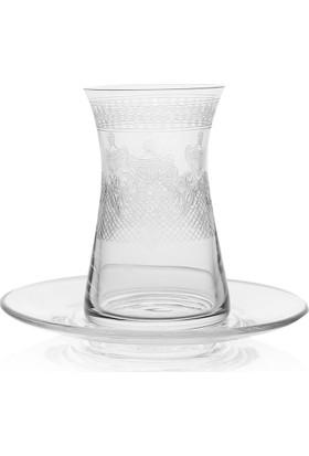 Bohemia Kristal Miranda 6Lı Çay Bardağı 140 CC
