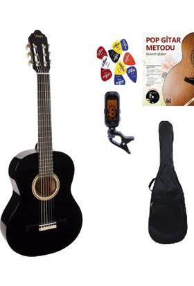Valencia VC 254 Klasik Gitar Set (Gitar-Akort Cihazı-Kılıf-Gitar Metodu-Pena)