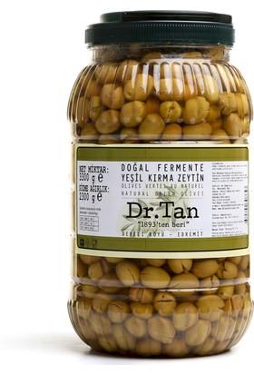Dr. Tan 2017/2018 Sezonu Doğal Fermente Yeşil Kırma Zeytin 3300 Gr