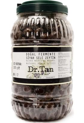 Dr. Tan 2017/2018 Sezonu Doğal Fermente Siyah Sele Zeytin Premium 2300 Gr