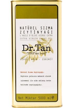 Dr. Tan Erken Hasat Soğuk Sıkım Natürel Sızma Zeytinyağı 5 lt Teneke