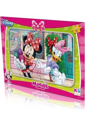 Disney Minnie Mouse Frame Puzzle (Yapboz) 24 Parça
