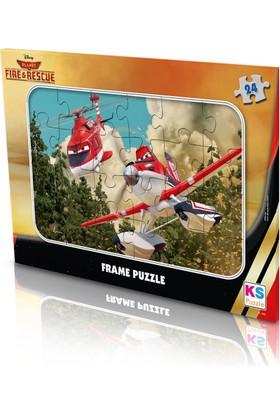 Disney Planes - Frame Puzzle (Yapboz) 24 Parça