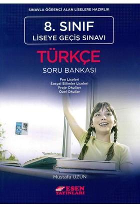 Esen 8. Sınıf Liseye Geçiş Sınavı Türkçe Soru Bankası