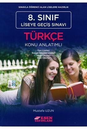 Esen 8. Sınıf Liseye Geçiş Sınavı Türkçe Konu Anlatımlı