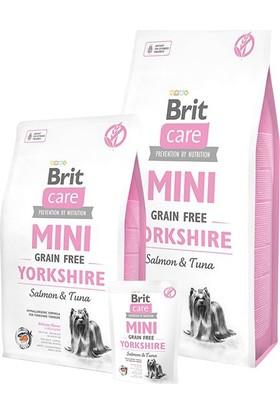 Brit Care Tahılsız Mini Yorkshire Somonlu Köpek Maması 2 kg