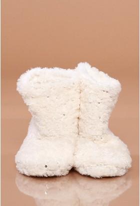 Zemin Giyim Pullu Kadın Ev Botu-002