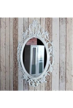 Evcazım Dekoratik Şık Görünükmü Duvar Boy Aynası