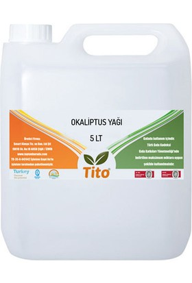 Tito Okaliptus Yağı Soğuk Sıkım 5 lt