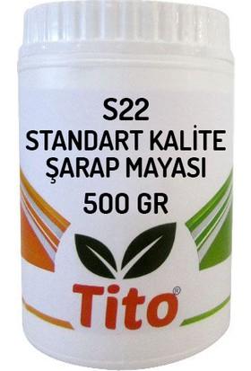 Tito S22 Standart Kalite Şarap Mayası 500 gr