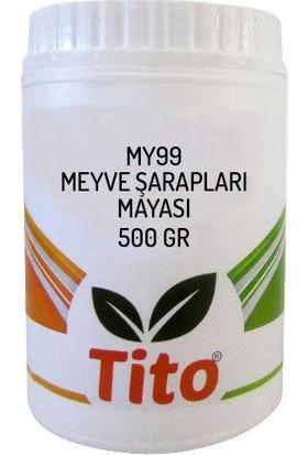 Tito My99 Meyve Şarapları Mayası 500 gr
