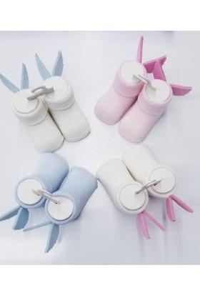 Bumbo Melek Kanatlı Bebek Çorap