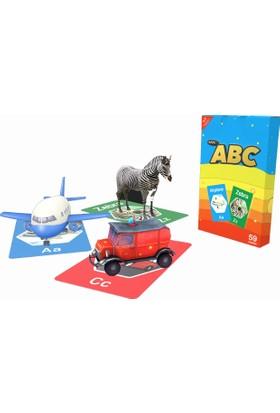 Magic Arttırılmış Gerçeklikli 4 D Sihirli İngilizce Eğitim Kartları