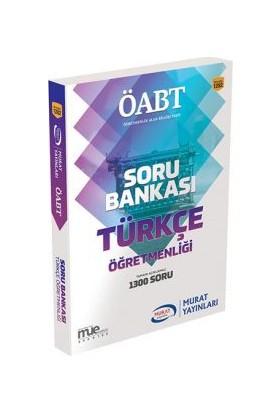 ÖABT Türkçe Öğretmenliği Tamamı Açıklamalı Soru Bankası Murat Yayınları