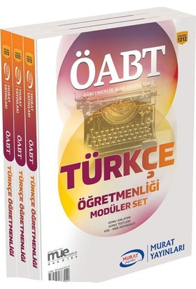 ÖABT Türkçe Öğretmenliği Konu Anlatımlı Modüler Set Murat Yayınları