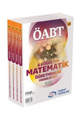 ÖABT İlköğretim Matematik Öğretmenliği Konu Anlatımlı Modüler Set Murat Yayınları