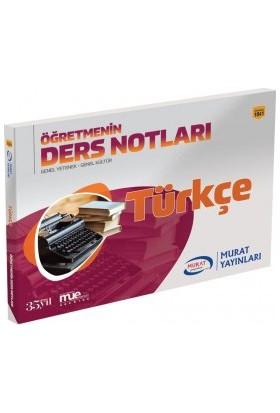 Murat Kpss Türkçe Öğretmenin Ders Notları