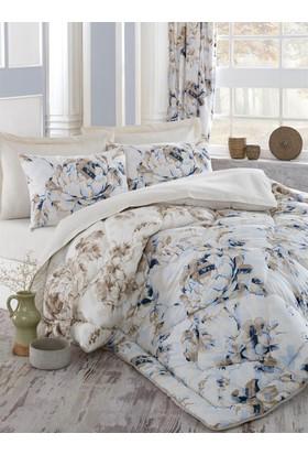 Cotton Box Çift Kişilik Ranforce Uyku Seti Pastella Mavi