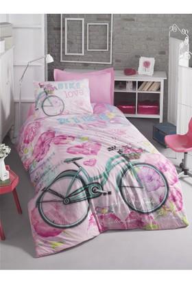 Cotton Box Genç Nevresim Takımı - Bike Pembe