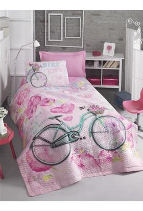 Cotton Box Genç Odası Tek Kişilik Complete Set - Bike Pembe