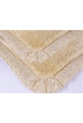 İrya Home DRESSY Güpürlü Banyo Paspası Gold 60x100 cm