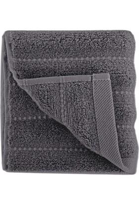 İrya Home FRIZZ Microline Havlu Antrasit 30x50 cm