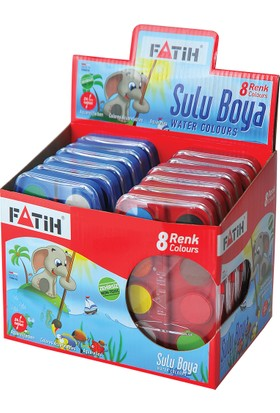 Fatih Sulu Boya S-8 Big Size 8 Renk