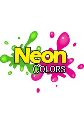 Fatih Parmak Boyası Neon 500 Ml Şişe (Mavi)