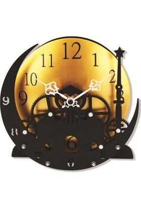 Time Gold Atakule Masa Saati-21.8*7.5*21.1cm