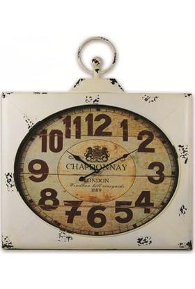 Time Gold Madrid Duvar Saati-67*77cm