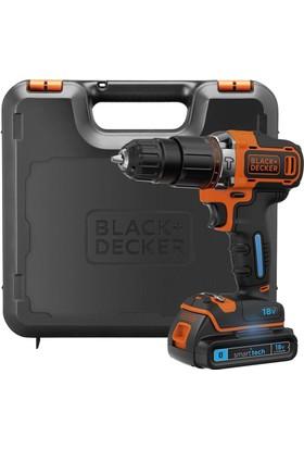 Black&Decker BDCHD18KST 18Volt/1.5Ah Li-ion 2 Vitesli Darbeli Matkap + Powerbank