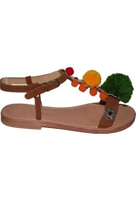 Efem Kadın 1004 Ponponlu Sandalet