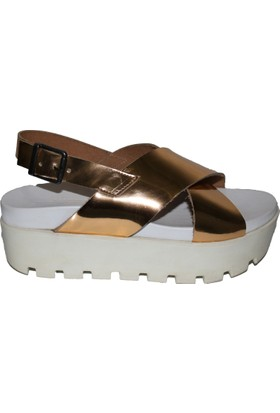 Efem Kadın 277 Deri Sandalet