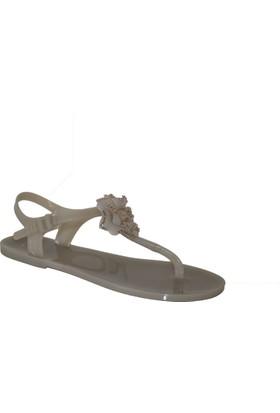 Efem Menghi Kadın 820Gasw Taşlı Sandalet
