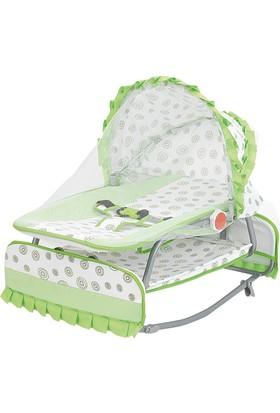 Happy Baby Class Desenli Anadizi (Yeşil - Beyaz)